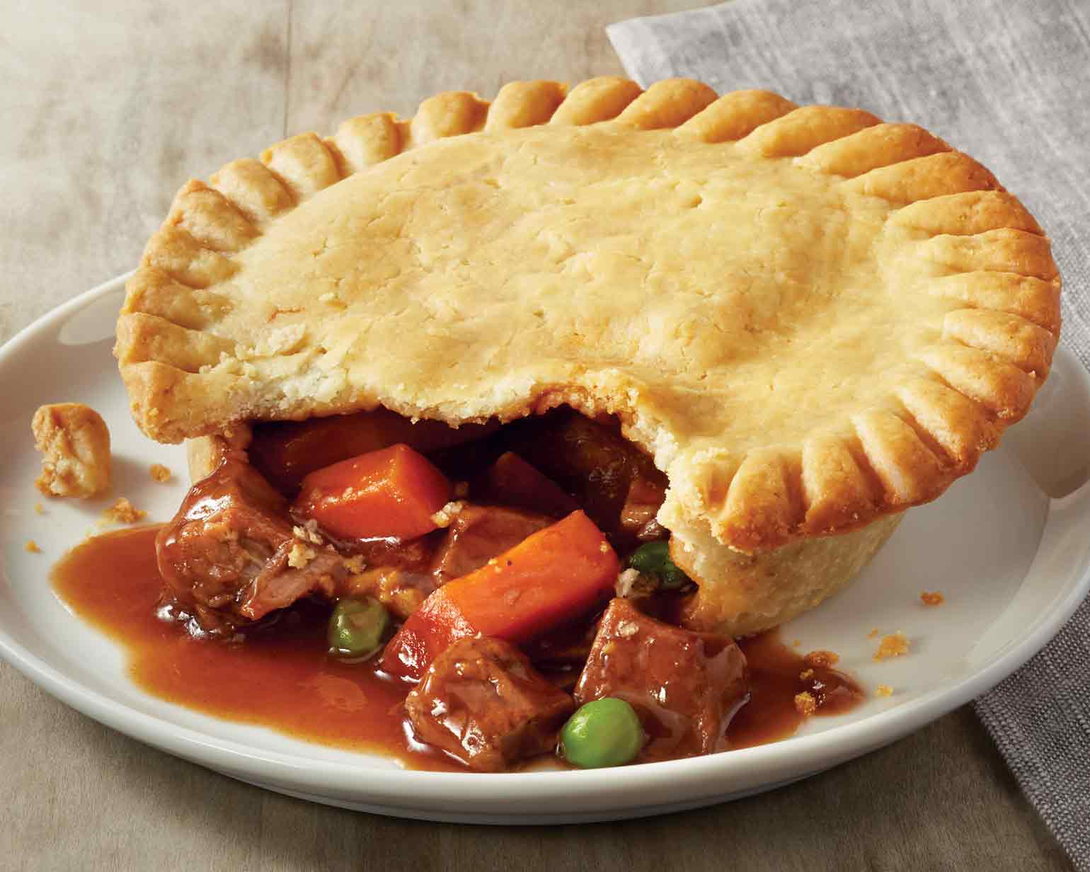 Old Fashioned Pot Pie