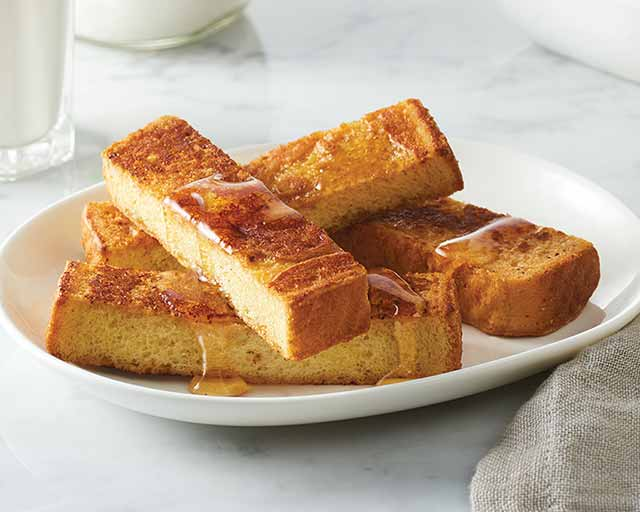 Good food recipes » Easy recipe for french toast sticks
