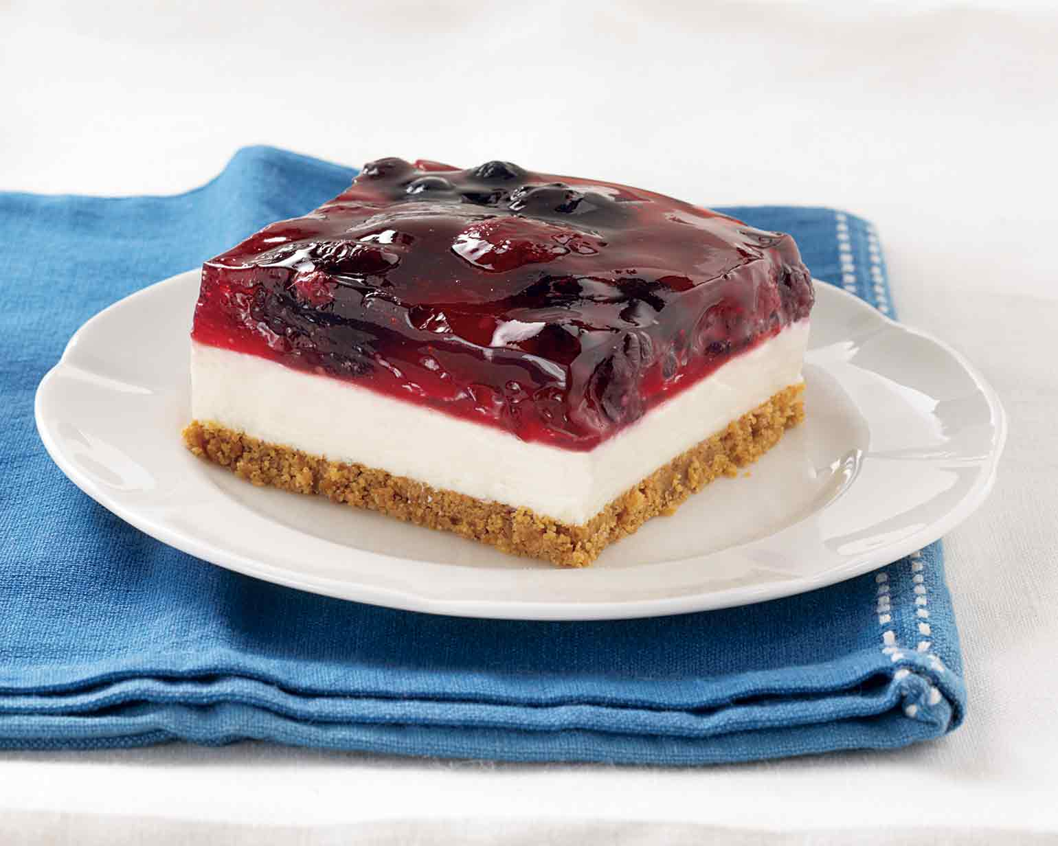 Triple berry dessert squares schwan 39 s for Triple tail fish recipes