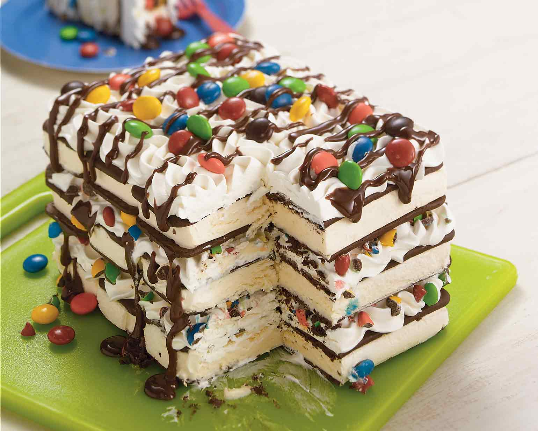 Fine Ice Cream Sandwich Cake Schwans Birthday Cards Printable Trancafe Filternl