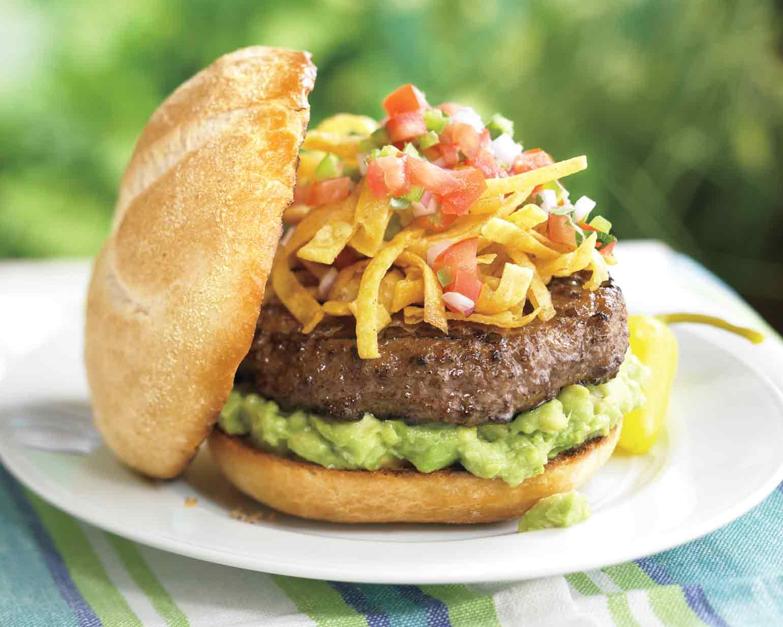 hamburger signature au guacamole - HD1540×1232